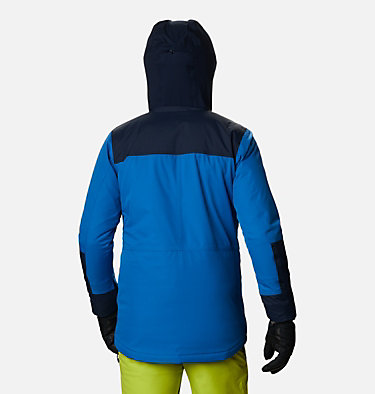 Men's Park Run™ Jacket - Big Park Run™ Jacket | 271 | 3X, Bright Indigo, Collegiate Navy, back