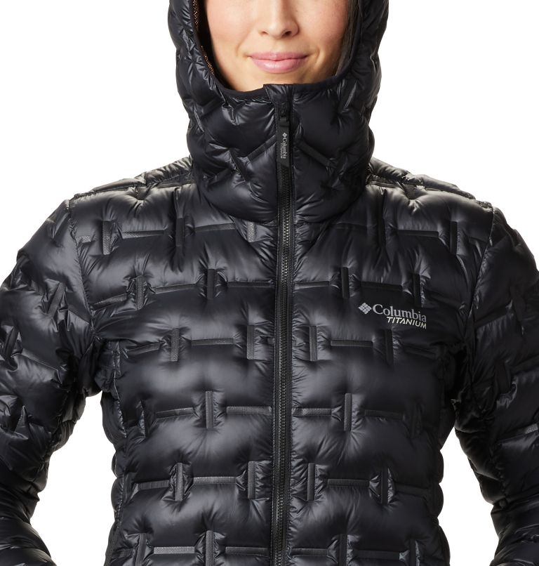 W Alpine Crux™ Down Jacket | 010 | M Women's Alpine Crux Down Jacket, Black, a2