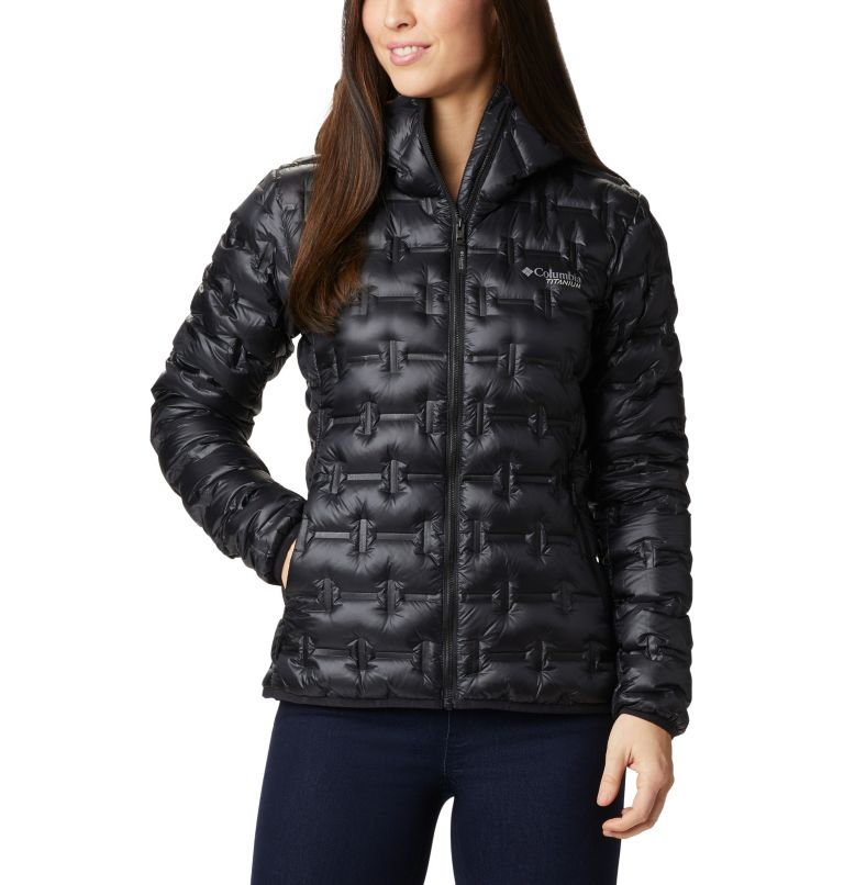 W Alpine Crux™ Down Jacket | 010 | M Women's Alpine Crux Down Jacket, Black, front