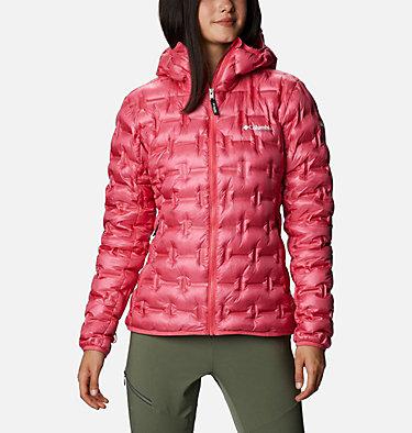 Piumino Alpine Crux da donna W Alpine Crux™ Down Jacket | 010 | XS, Bright Geranium, front