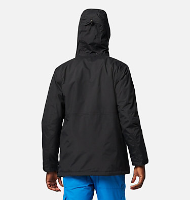 Men's Park Run Anorak Ski Pullover Park Run™Anorak | 011 | XXL, Black, back