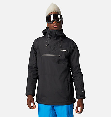 Men's Park Run Anorak Ski Pullover Park Run™Anorak | 011 | XXL, Black, front