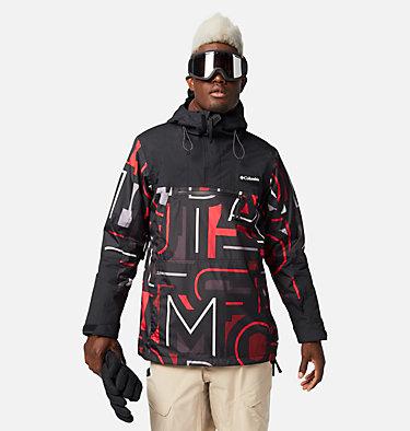 Men's Park Run™ Anorak Pullover Park Run™Anorak | 043 | L, Black Typo, Black, front