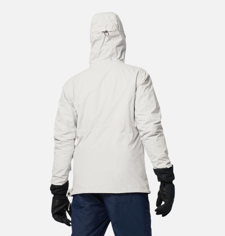 Park Run™Anorak | 043 | S Men's Park Run™ Anorak Jacket, Nimbus Grey, back