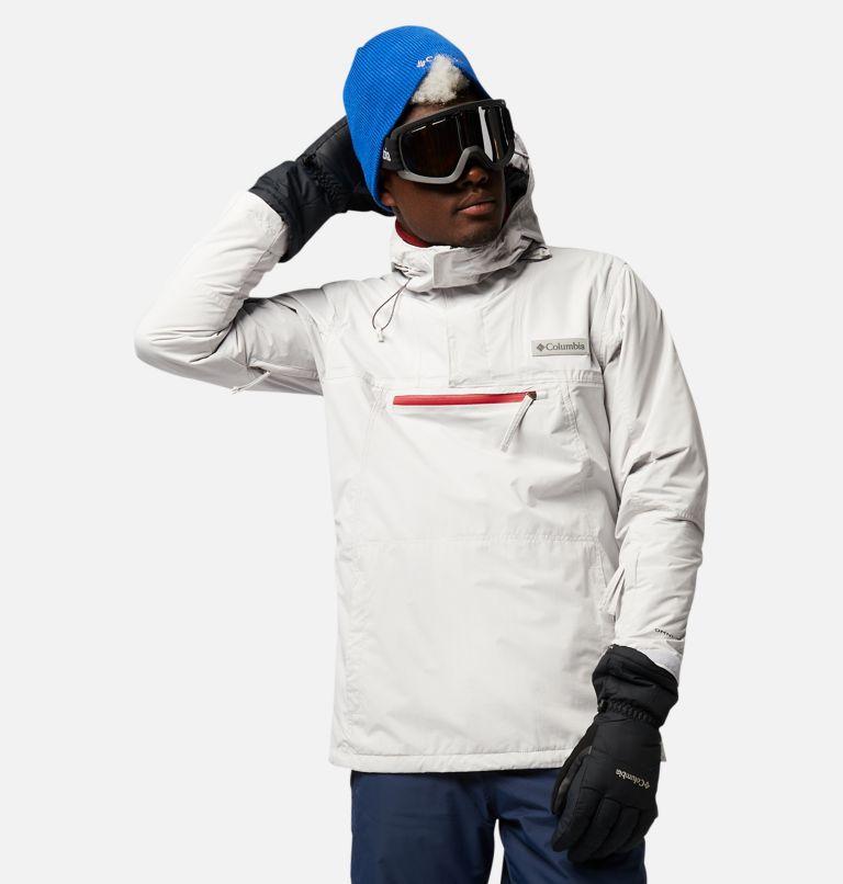 Park Run™Anorak | 043 | S Men's Park Run™ Anorak Jacket, Nimbus Grey, front