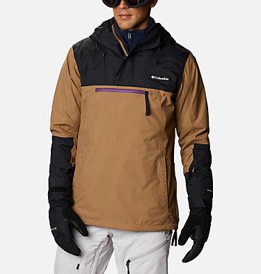 Men's Park Run Anorak Ski Pullover Park Run™Anorak | 011 | XXL, Delta, Black, Plum, front