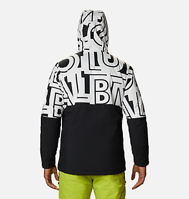 Men's Winter District™ Jacket Winter District™ Jacket | 466 | M, Black, White Typo, back