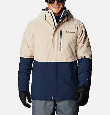 Men's Winter District™ Jacket Winter District™ Jacket | 466 | M, Collegiate Navy, Ancient Fossil, front