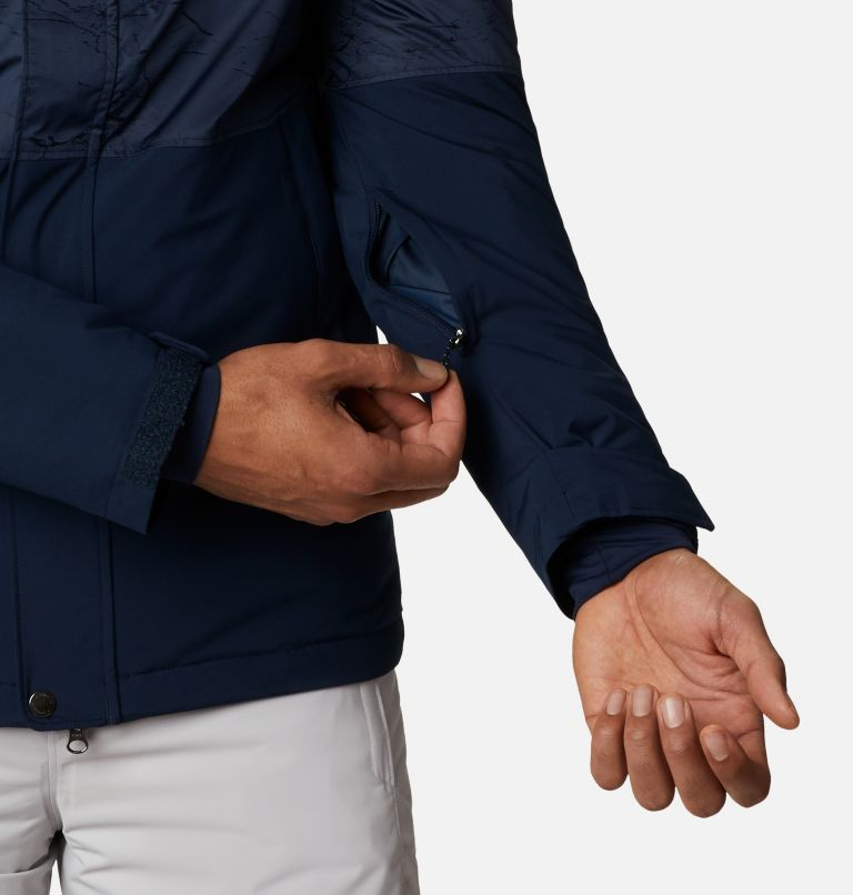 Winter District™ Jacket | 467 | XXL Men's Winter District™ Jacket, Collegiate Navy, Coll Navy Jacquard, a4