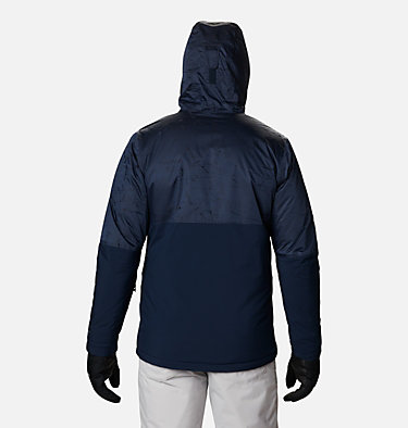 Men's Winter District™ Jacket Winter District™ Jacket | 466 | M, Collegiate Navy, Coll Navy Jacquard, back