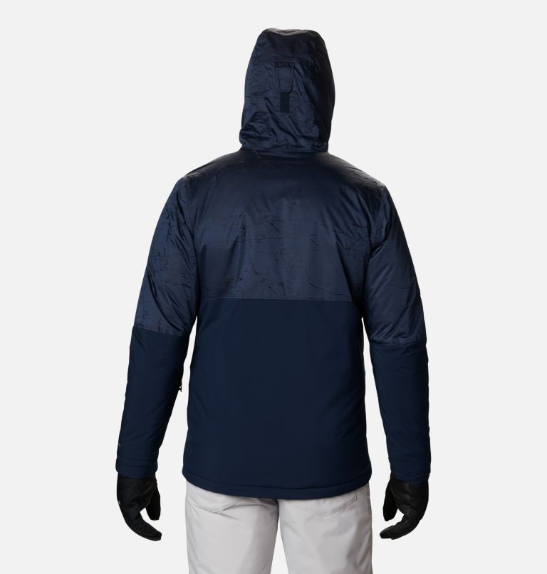 Winter District™ Jacket | 467 | L Men's Winter District™ Jacket, Collegiate Navy, Coll Navy Jacquard, back