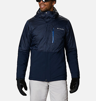 Men's Winter District™ Jacket Winter District™ Jacket | 466 | M, Collegiate Navy, Coll Navy Jacquard, front