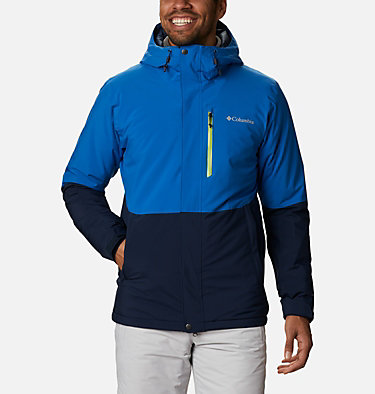 Men's Winter District™ Jacket Winter District™ Jacket | 010 | M, Collegiate Navy, Bright Indigo, front