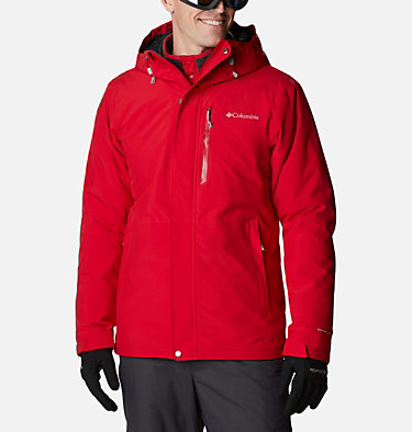 Men's Winter District Jacket Winter District™ Jacket | 010 | M, Mountain Red, front
