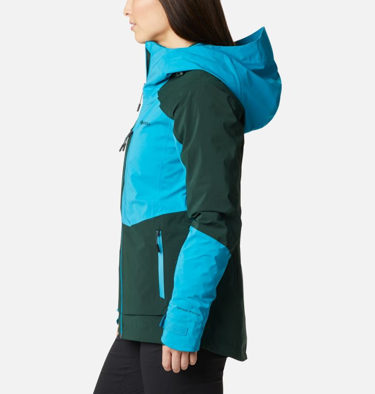 Wild Card™ Insulated Jacket | 370 | XS Women's Wild Card Insulated Ski Jacket, Spruce, Fjord Blue, a1