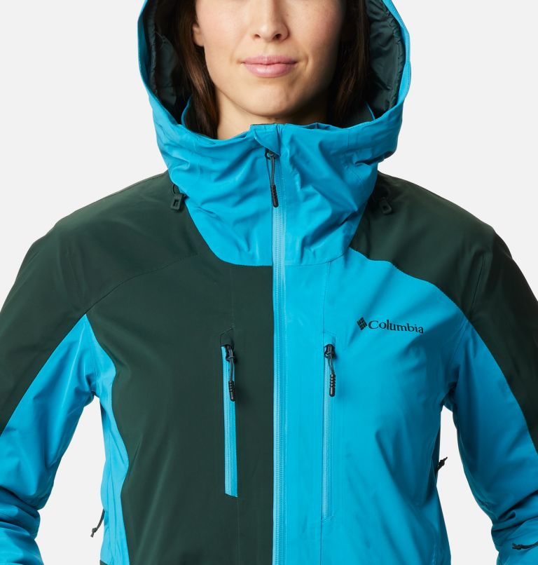 Wild Card™ Insulated Jacket | 370 | XS Women's Wild Card Insulated Ski Jacket, Spruce, Fjord Blue, a2