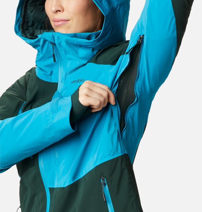 Wild Card™ Insulated Jacket | 370 | XS Women's Wild Card Insulated Ski Jacket, Spruce, Fjord Blue, a5