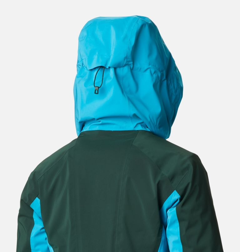 Wild Card™ Insulated Jacket | 370 | XS Women's Wild Card Insulated Ski Jacket, Spruce, Fjord Blue, a6