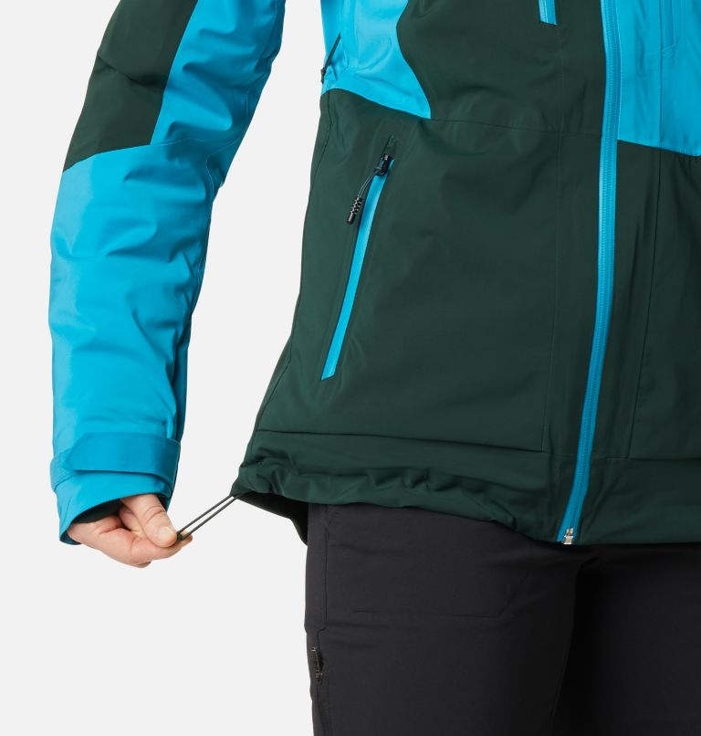 Wild Card™ Insulated Jacket | 370 | M Women's Wild Card Insulated Ski Jacket, Spruce, Fjord Blue, a7