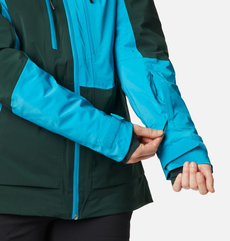 Wild Card™ Insulated Jacket | 370 | XS Women's Wild Card Insulated Ski Jacket, Spruce, Fjord Blue, a8