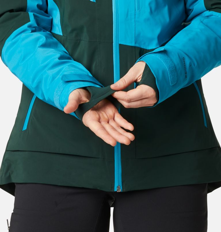 Wild Card™ Insulated Jacket | 370 | XS Women's Wild Card Insulated Ski Jacket, Spruce, Fjord Blue, a9