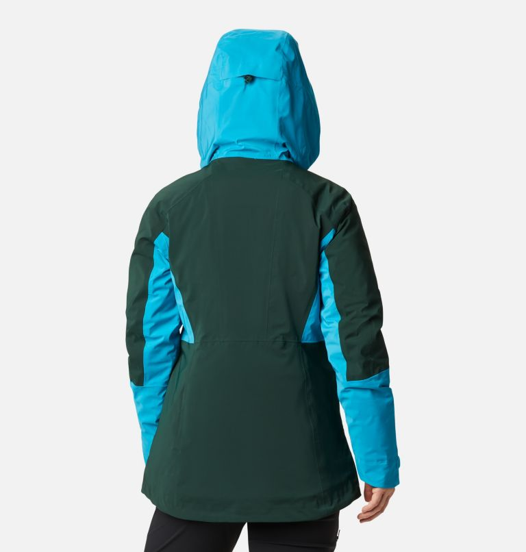 Wild Card™ Insulated Jacket | 370 | XS Women's Wild Card Insulated Ski Jacket, Spruce, Fjord Blue, back