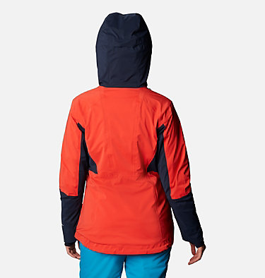 Women's Wild Card Insulated Jacket Wild Card™ Insulated Jacket | 370 | XS, Bold Orange, Dark Nocturnal, back