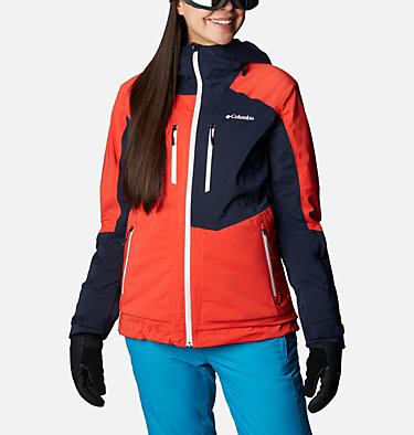 Women's Wild Card Insulated Jacket Wild Card™ Insulated Jacket | 370 | XS, Bold Orange, Dark Nocturnal, front