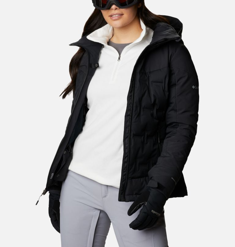 Wild Card™ Down Jkt | 010 | XS Women's Wild Card Down Ski Jacket, Black, a3