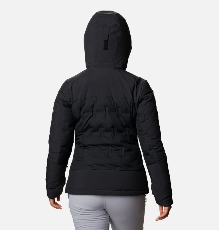 Wild Card™ Down Jkt | 010 | XS Women's Wild Card Down Ski Jacket, Black, back