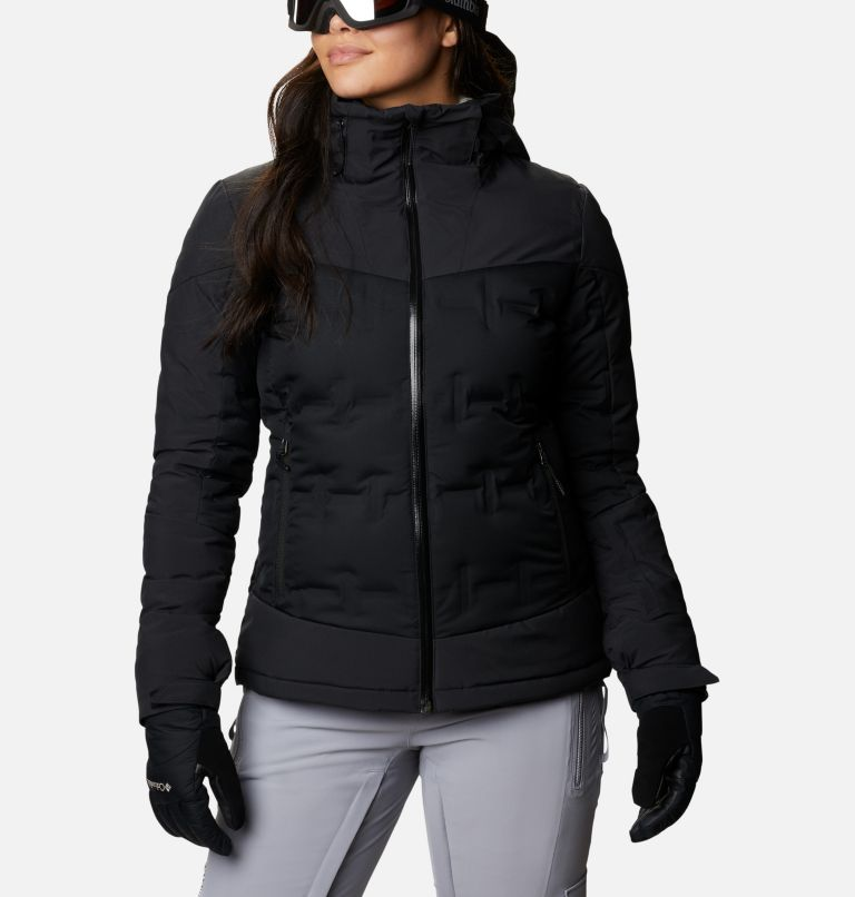 Wild Card™ Down Jkt | 010 | XS Women's Wild Card Down Ski Jacket, Black, front