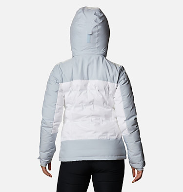 Manteau en duvet Wild Card™ pour femme Wild Card™ Down Jkt | 100 | XL, White, Cirrus Grey, back