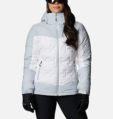 Women's Wild Card™ Down Jacket Wild Card™ Down Jkt | 100 | XL, White, Cirrus Grey, front