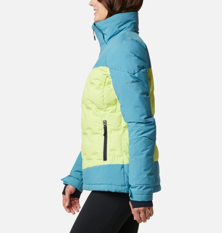 Wild Card™ Down Jkt | 307 | XS Women's Wild Card Down Ski Jacket, Voltage, Canyon Blue, a1