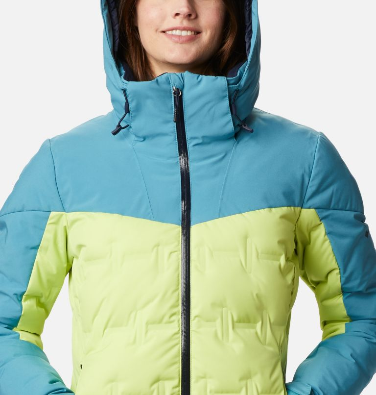 Wild Card™ Down Jkt | 307 | XS Women's Wild Card Down Ski Jacket, Voltage, Canyon Blue, a2
