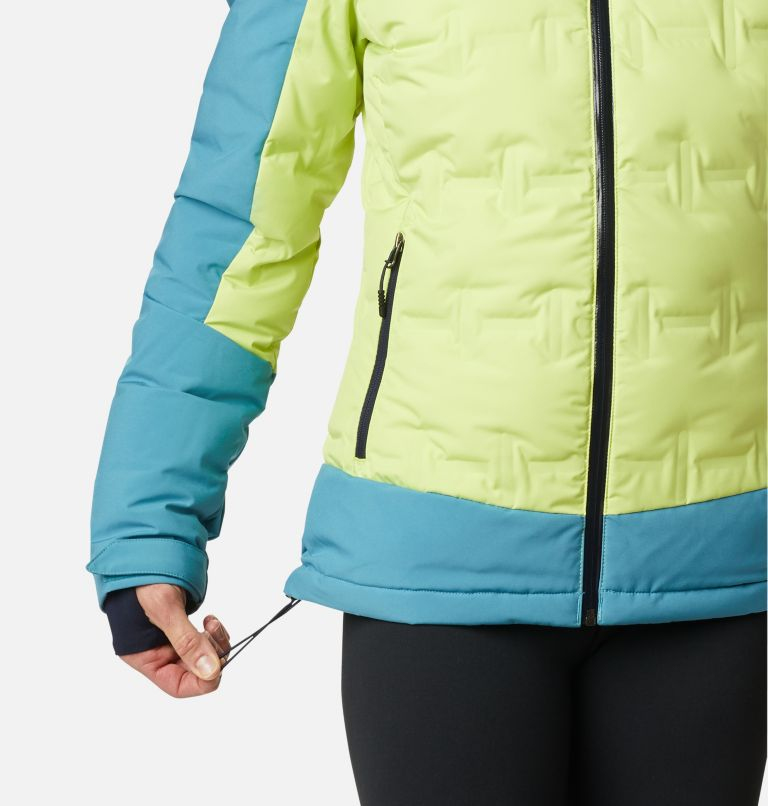 Wild Card™ Down Jkt | 307 | XS Women's Wild Card Down Ski Jacket, Voltage, Canyon Blue, a5