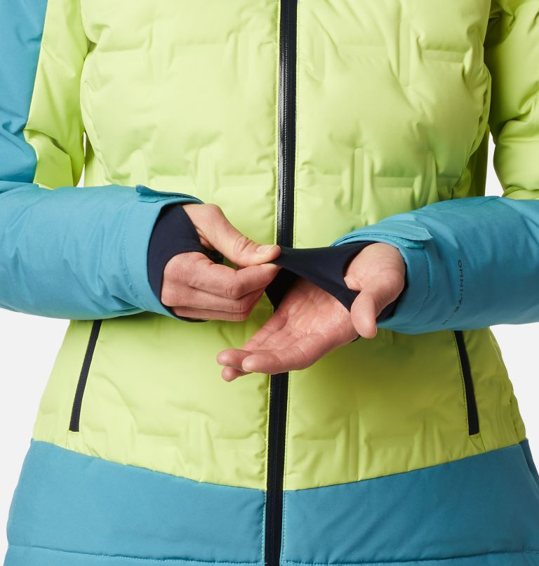 Wild Card™ Down Jkt | 307 | XS Women's Wild Card Down Ski Jacket, Voltage, Canyon Blue, a6