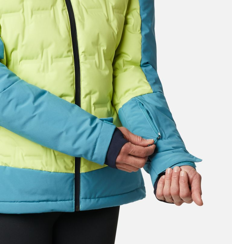 Wild Card™ Down Jkt | 307 | XS Women's Wild Card Down Ski Jacket, Voltage, Canyon Blue, a7