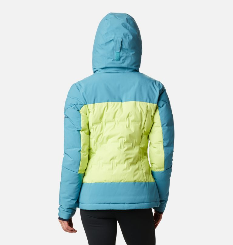 Wild Card™ Down Jkt | 307 | XS Women's Wild Card Down Ski Jacket, Voltage, Canyon Blue, back