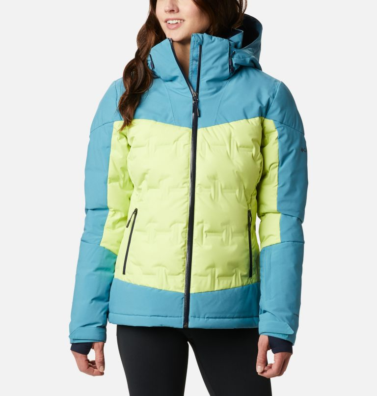 Wild Card™ Down Jkt | 307 | XS Women's Wild Card Down Ski Jacket, Voltage, Canyon Blue, front