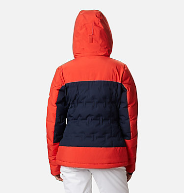 Manteau en duvet Wild Card™ pour femme Wild Card™ Down Jkt | 100 | XL, Dark Nocturnal, Bold Orange, back