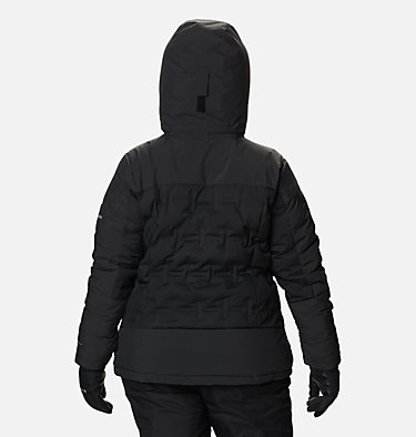 Women's Wild Card™ Down Jacket - Plus Size Wild Card™ Down Jkt | 472 | 3X, Black, back