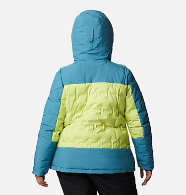 Women's Wild Card™ Down Jacket - Plus Size Wild Card™ Down Jkt | 472 | 3X, Voltage, Canyon Blue, back