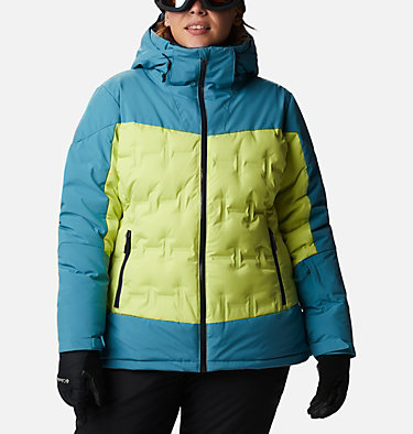 Women's Wild Card™ Down Jacket - Plus Size Wild Card™ Down Jkt | 472 | 3X, Voltage, Canyon Blue, front