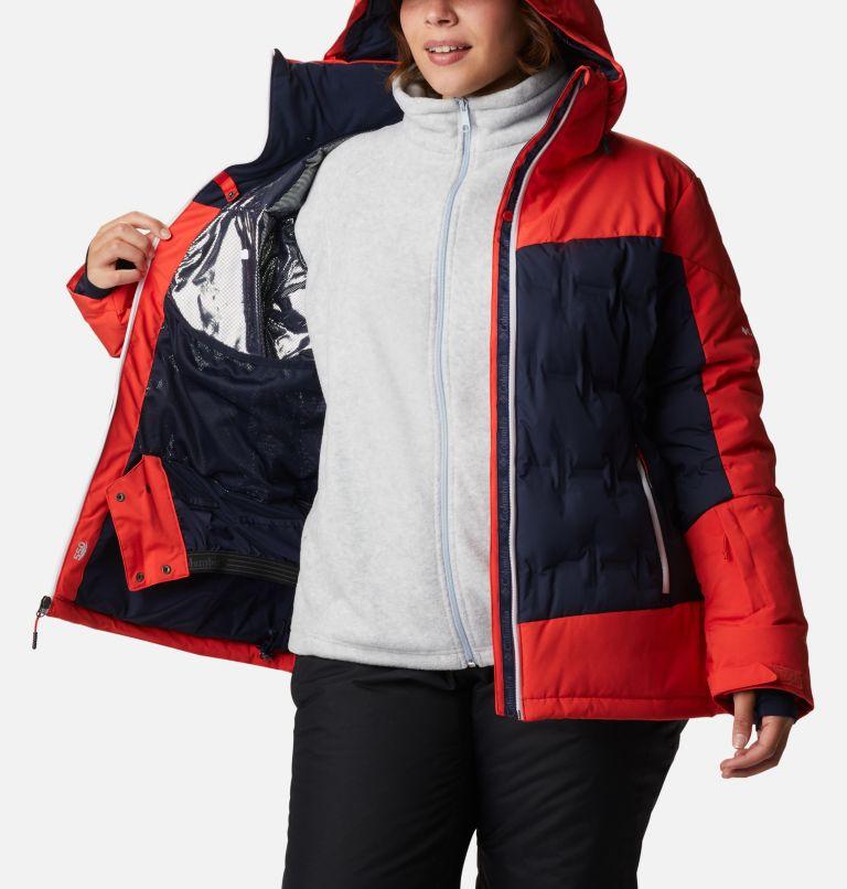 Wild Card™ Down Jkt | 472 | 1X Manteau en duvet Wild Card™ pour femme - Grandes tailles, Dark Nocturnal, Bold Orange, a3