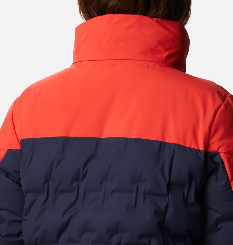 Wild Card™ Down Jkt | 472 | 1X Manteau en duvet Wild Card™ pour femme - Grandes tailles, Dark Nocturnal, Bold Orange, a7