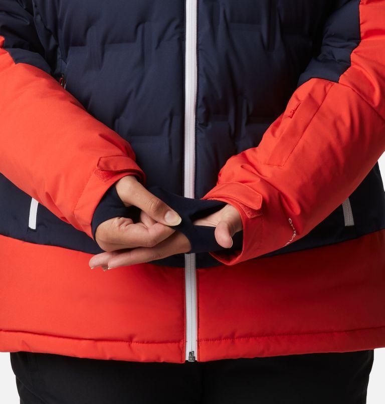 Wild Card™ Down Jkt | 472 | 1X Manteau en duvet Wild Card™ pour femme - Grandes tailles, Dark Nocturnal, Bold Orange, a9
