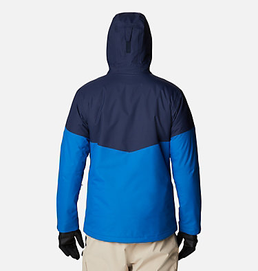 Men's Last Tracks Jacket Last Tracks™ Jacket | 432 | M, Bright Indigo, Collegiate Navy, back