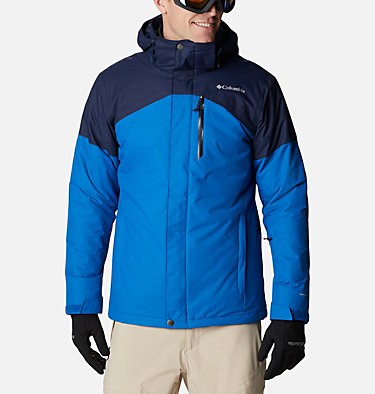 Men's Last Tracks Jacket Last Tracks™ Jacket | 432 | M, Bright Indigo, Collegiate Navy, front