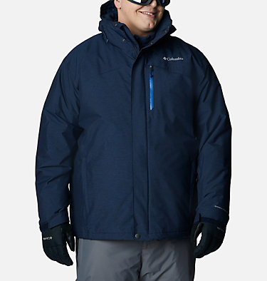 Men's Last Tracks™ Jacket - Big Last Tracks™ Jacket | 464 | 2X, Collegiate Navy Melange, front